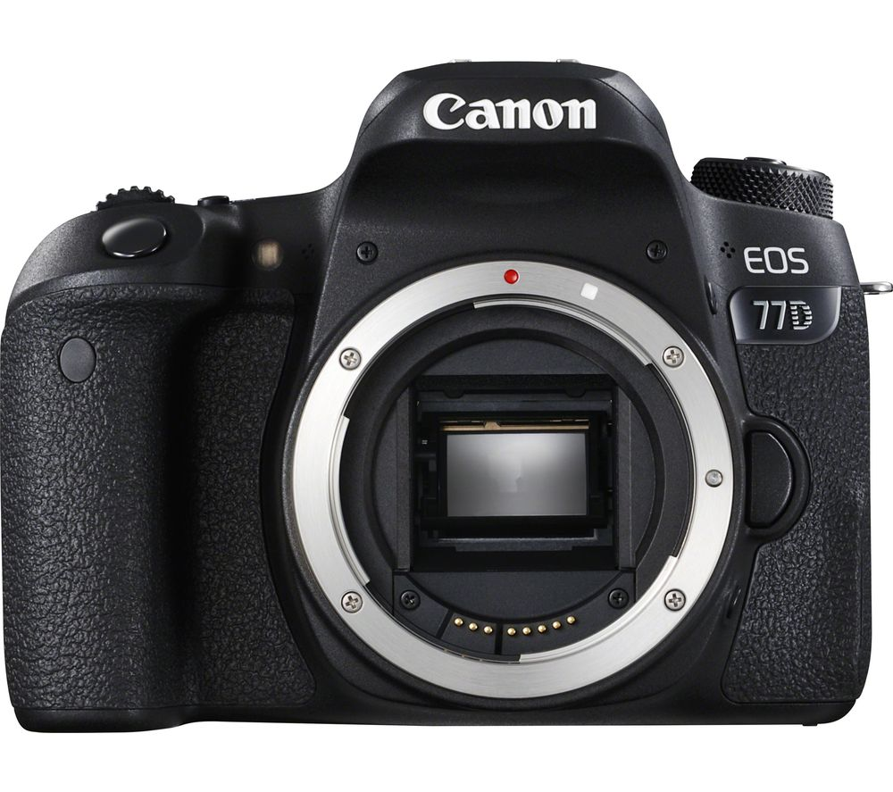 CANON EOS 77D DSLR Camera - Body Only + EF 50 mm f/1.8 STM Standard Prime Lens