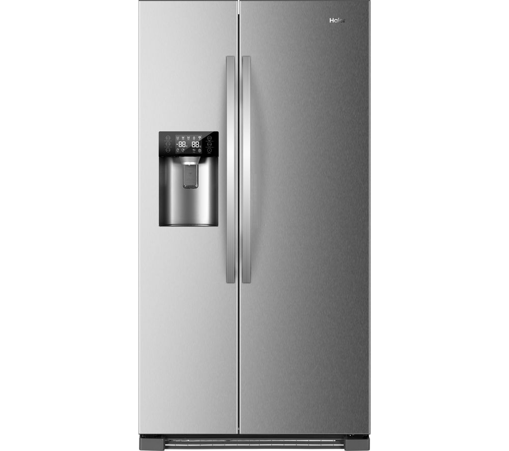 HAIER HRF-630IM7 American-Style Fridge Freezer - Stainless Steel