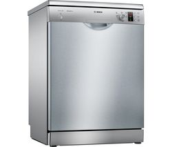 BOSCH SMS25AI00G Full-size Dishwasher - Silver Best Price, Cheapest Prices