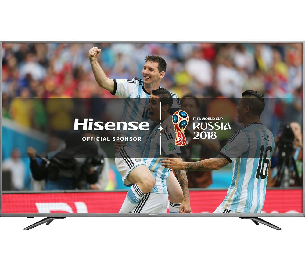 Compare cheap offers & prices of 50 Inch HISENSE H50N6800UK Smart 4K Ultra HD HDR LED TV manufactured by Hisense