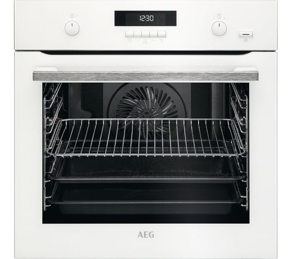 Image of AEG BPS551020W Electric Oven - White