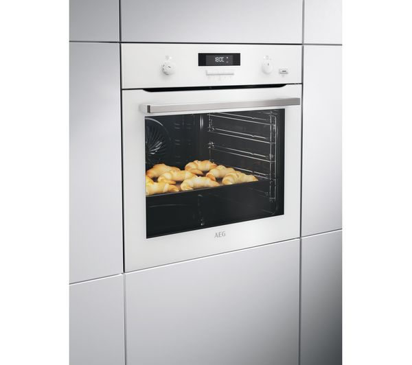 Buy Aeg Bps551020w Electric Oven White Free Delivery