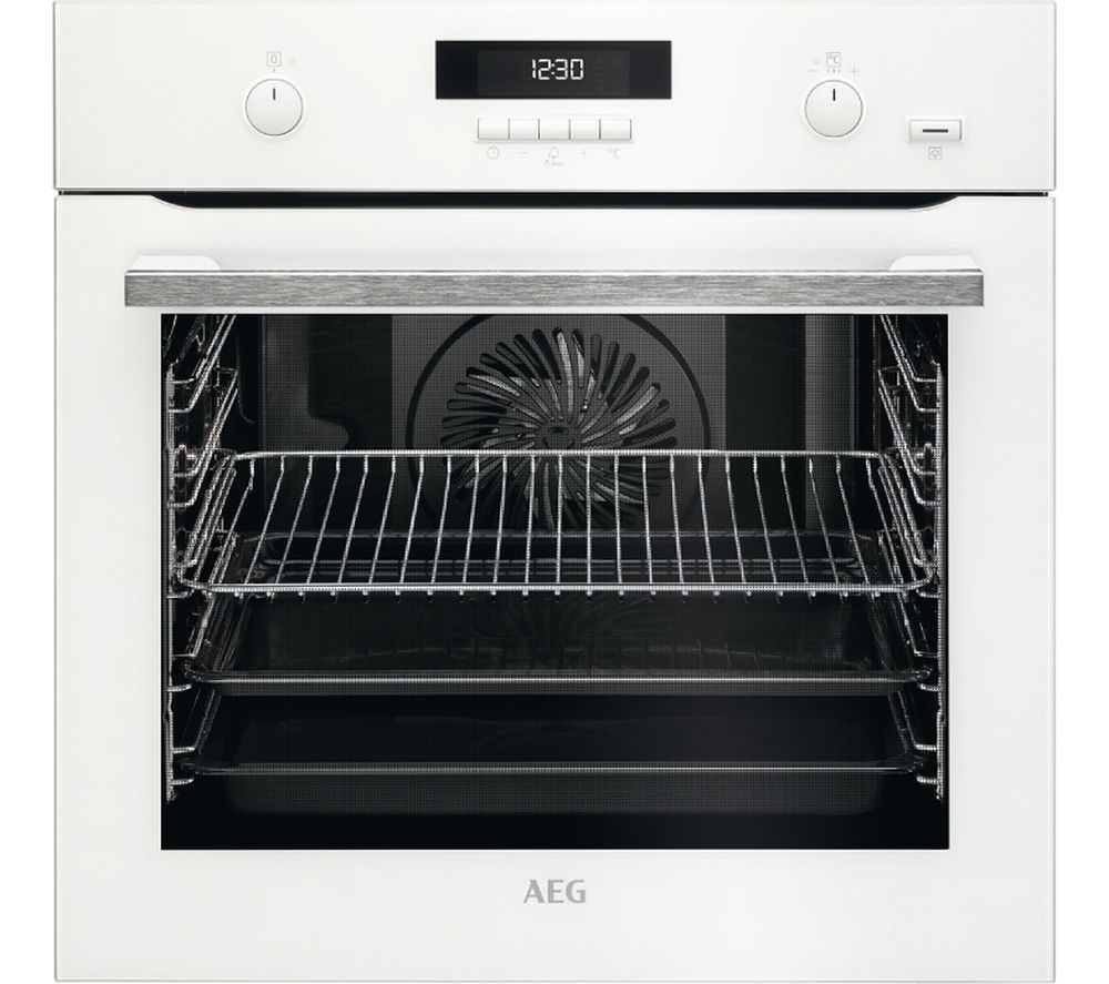 AEG BPS551020W Electric Oven - White, White