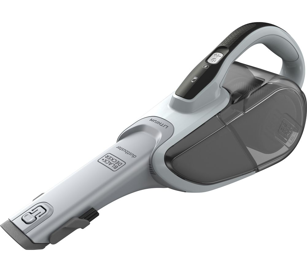 BLACK + DECKER DVJ215J Handheld Vacuum Cleaner - Grey