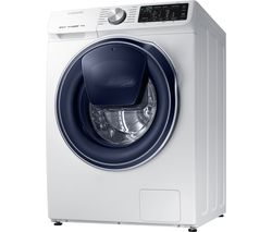 SAMSUNG QuickDrive + AddWash WW80M645OPW Smart 8 kg 1400 Spin Washing Machine - White
