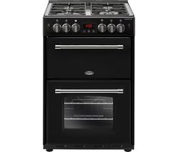 BELLING Farmhouse 60G 60 cm Gas Cooker - Black