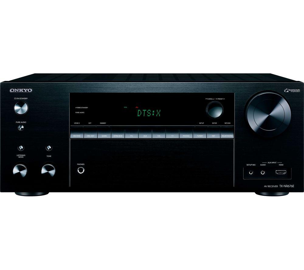ONKYO TX-NR676 7.2 Wireless Network AV Receiver - Black