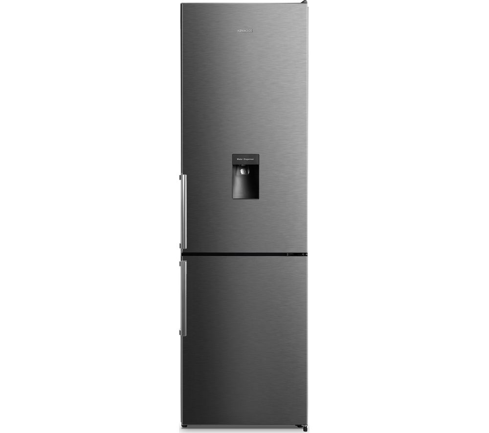 KENWOOD KNFD2MT18 70/30 Fridge Freezer - Black Steel