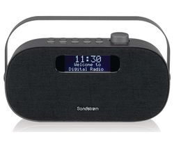 SF-DABG18 Portable DAB+/FM Bluetooth Radio - Grey