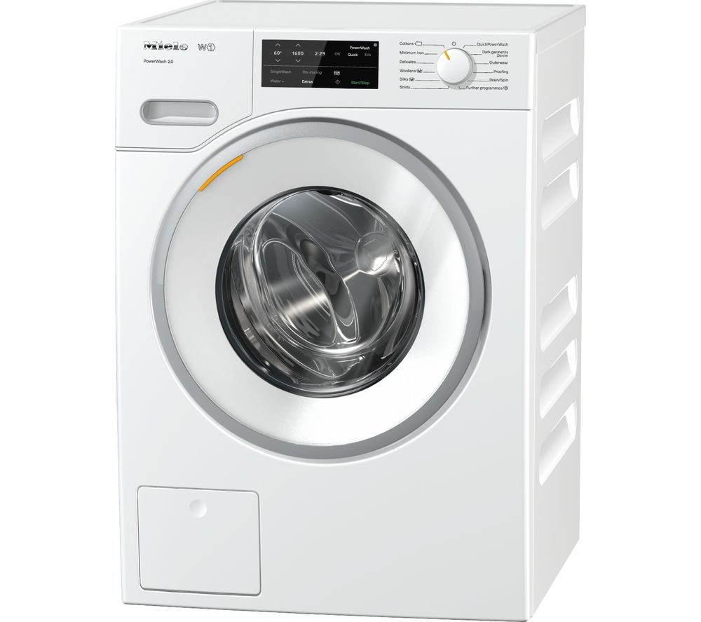 buy miele powerwash wwe320 8 kg 1400 spin washing machine white free delivery currys. Black Bedroom Furniture Sets. Home Design Ideas