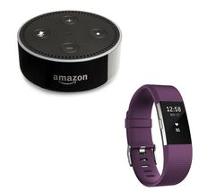 FITBIT Charge 2 - Plum, Small