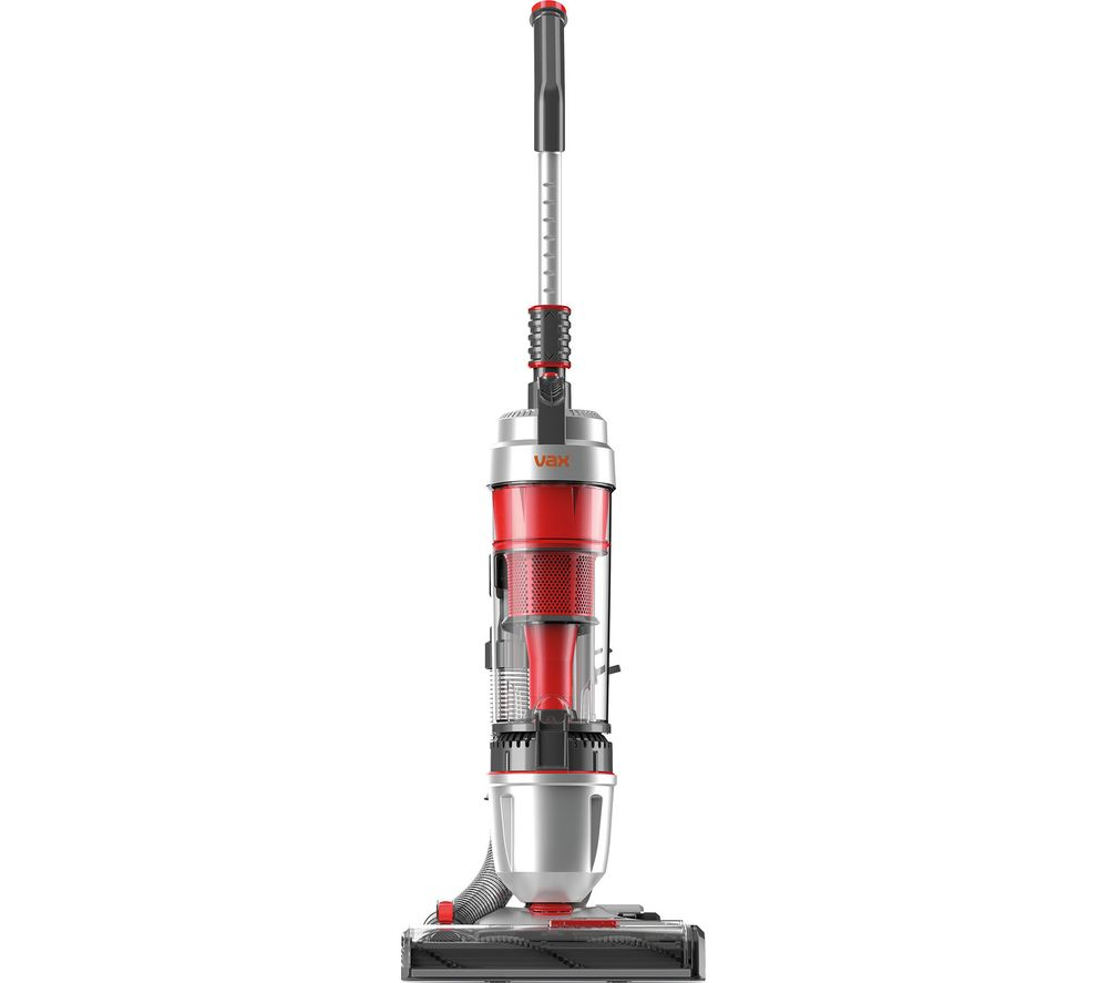 VAX Air Stretch Pro UCUEGEV1 Upright Bagless Vacuum Cleaner - Silver & Red