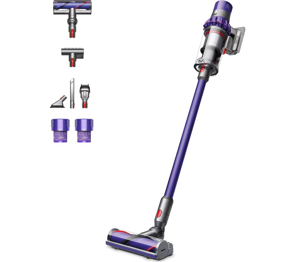 buy dyson cyclone v10 animal cordless vacuum cleaner purple free delivery currys. Black Bedroom Furniture Sets. Home Design Ideas