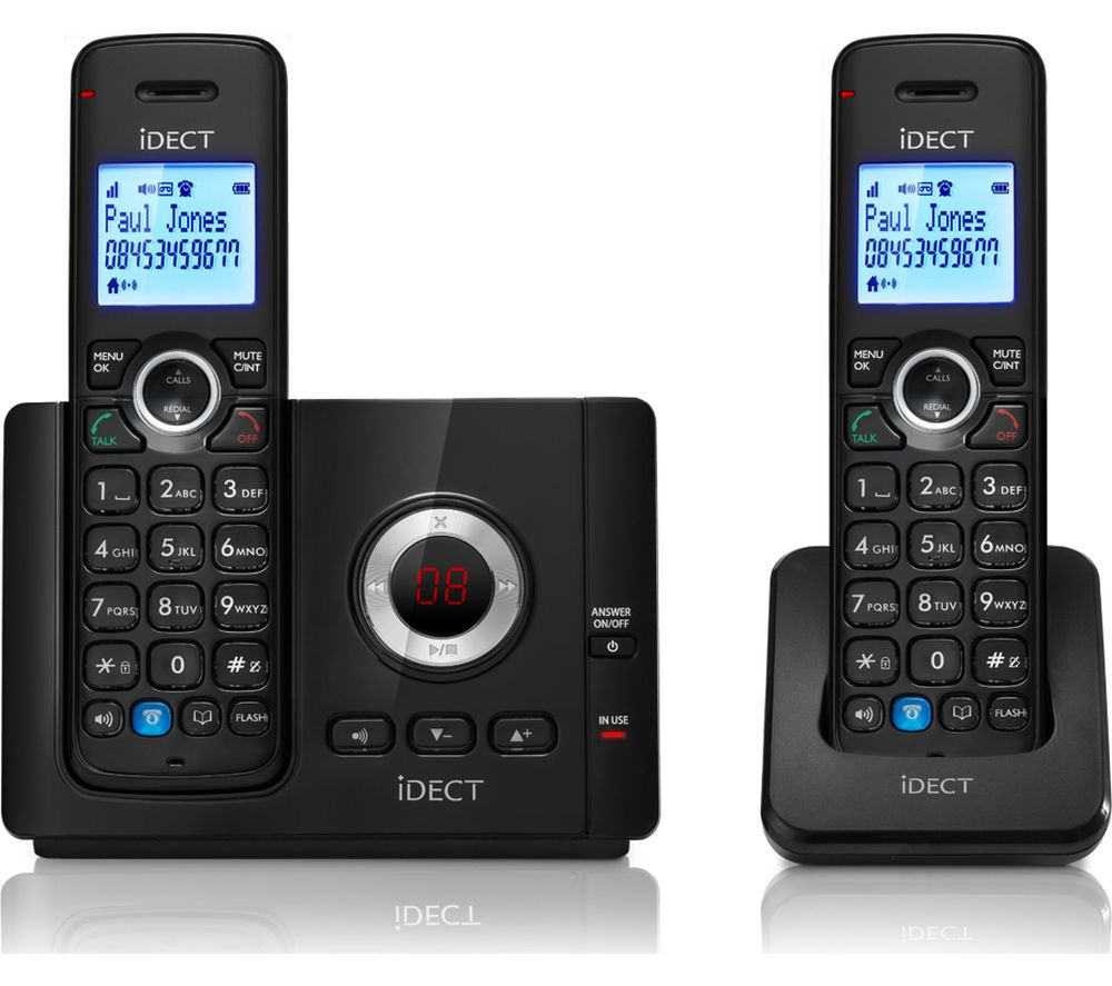 IDECT Vantage 9325 Cordless Phone - Twin Handsets