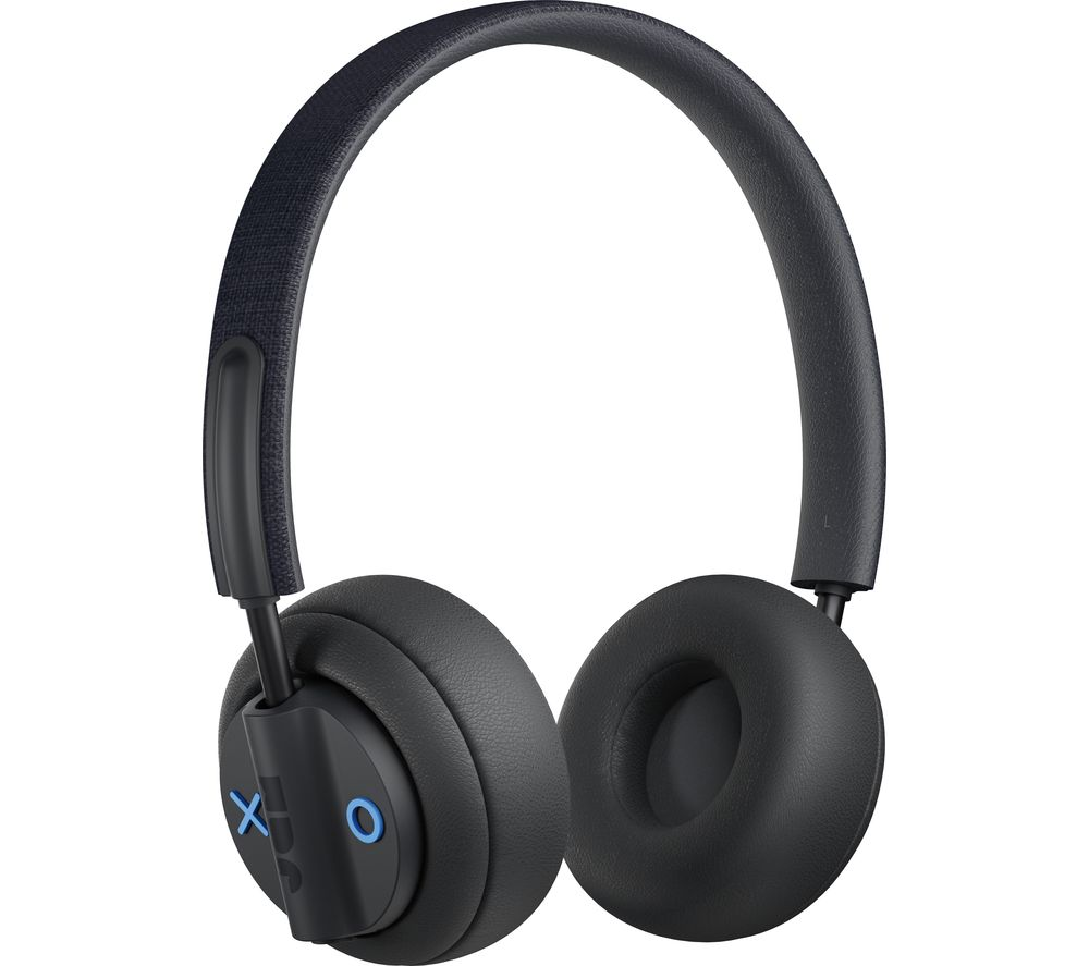 JAM Out There HX-HP303BK Wireless Bluetooth Noise-Cancelling Headphones - Black