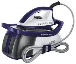 RUSSELL HOBBS Series 3 Steam Power 100 Steam Generator Iron - Purple