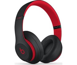 Decade Collection Studio 3 Wireless Bluetooth Noise-Cancelling Headphones - Red & Black
