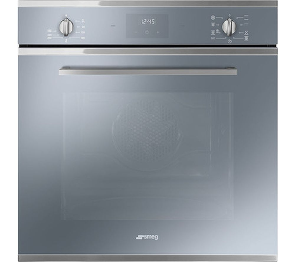 Buy SMEG Cucina SF6400TVS Electric Oven - Silver | Free Delivery ...