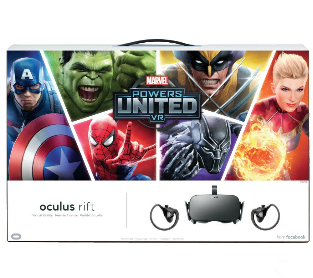 OCULUS Rift & Marvel Powers United VR Bundle