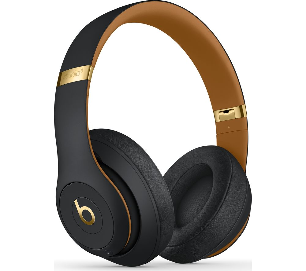 BEATS Studio 3 Wireless Bluetooth Noise-Cancelling Headphones - Midnight Black