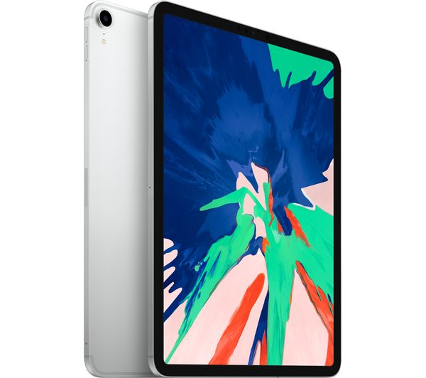 "Image of APPLE 11"" iPad Pro Cellular (2018) - 1 TB, Silver, Silver"