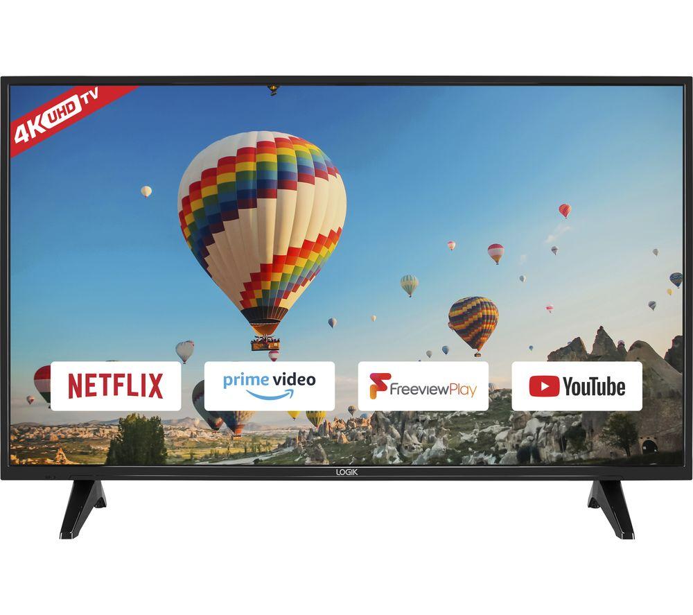 "55"" LOGIK L55UE19  Smart 4K Ultra HD HDR TV"