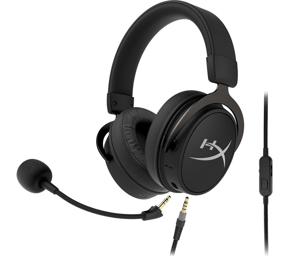 HYPERX Cloud MIX Wireless Gaming Headset - Black & Silver