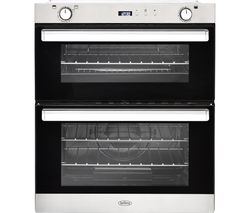 BELLING BI702G Gas Built-under Double Oven - Stainless Steel