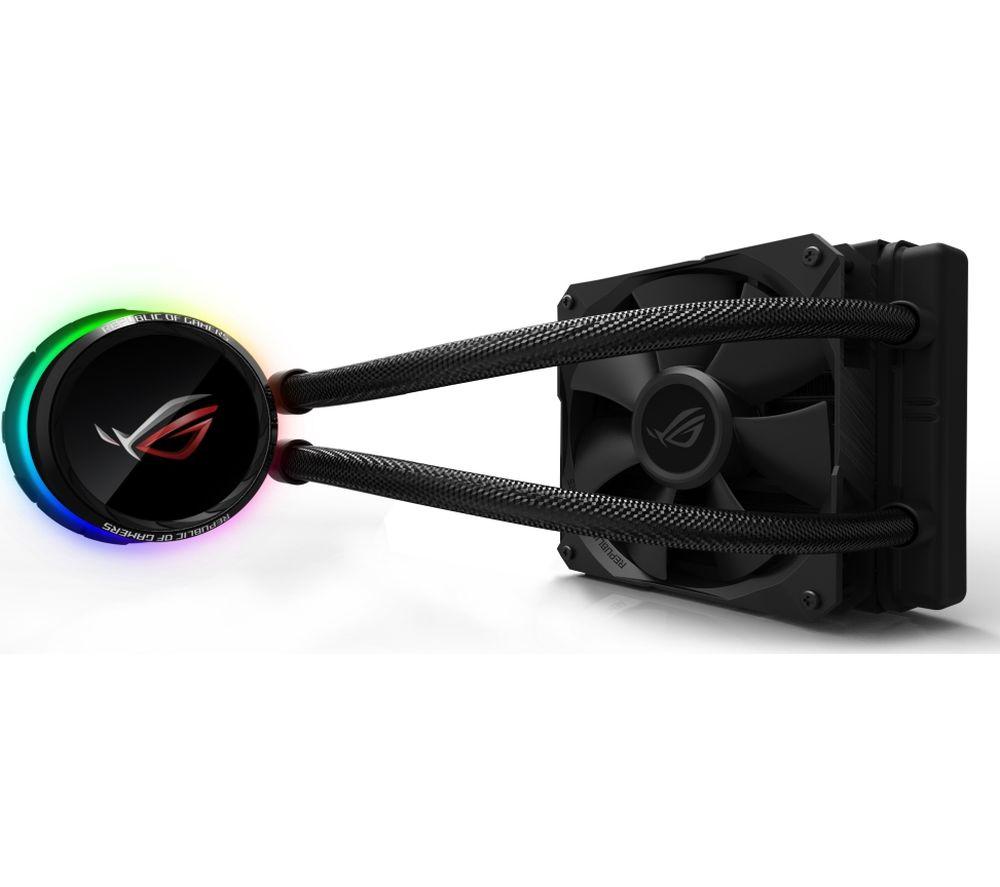 ASUS ROG Ryuo 120 mm CPU Cooler - RGB LED