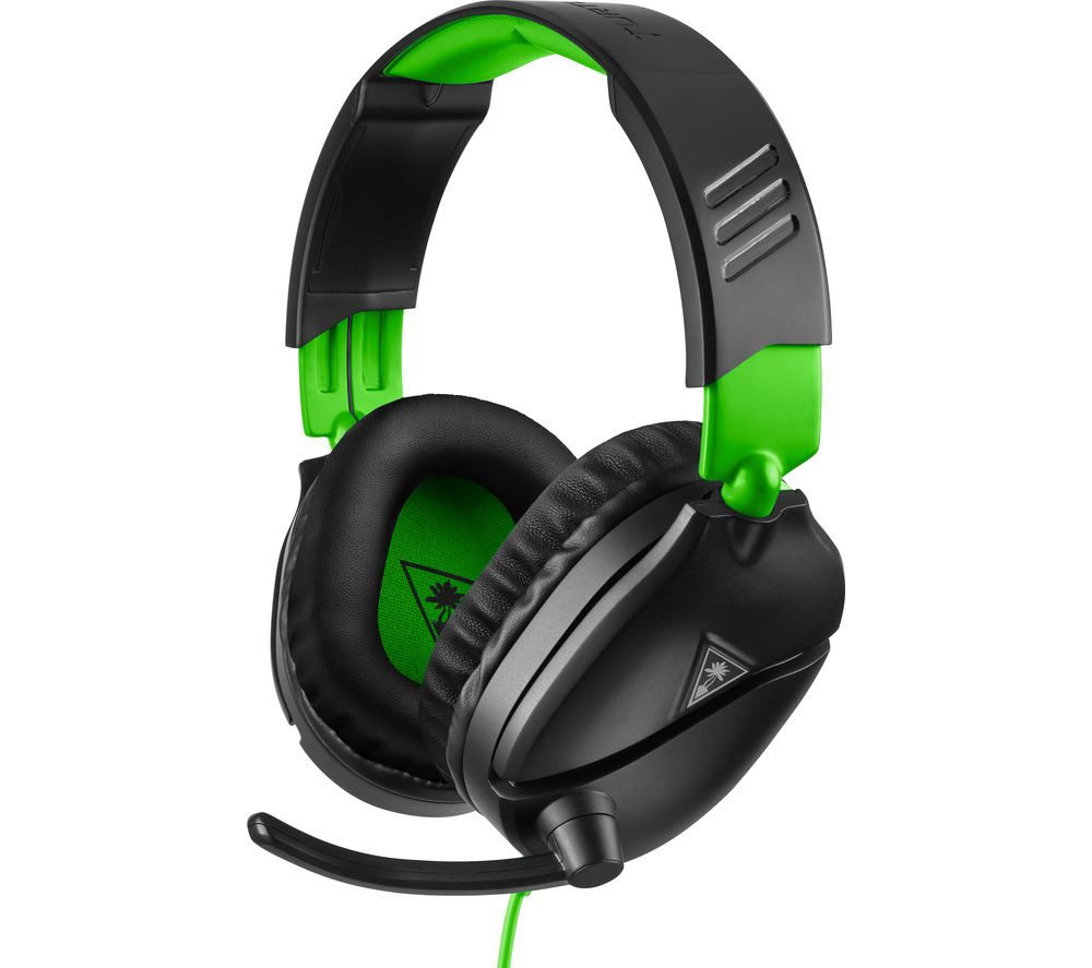 TURTLE BEACH Recon 70X Gaming Headset - Black & Green