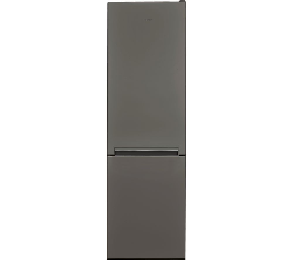 HOTPOINT Day1 H8 A1E SB UK.1 70/30 Fridge Freezer - Graphite