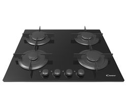 CANDY CVG64SPN Gas Hob - Black