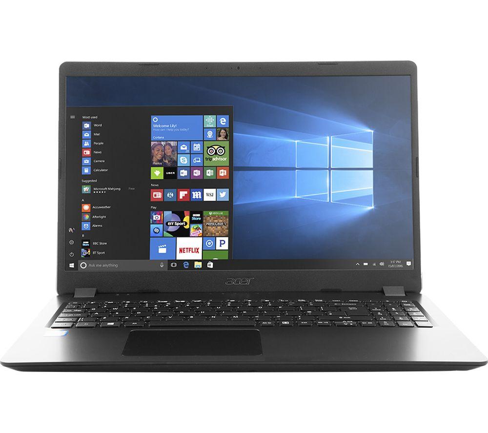 "ACER Aspire 3 A315-54 15.6"" Intel® Core™ i5 Laptop - 1 TB HDD, Black"
