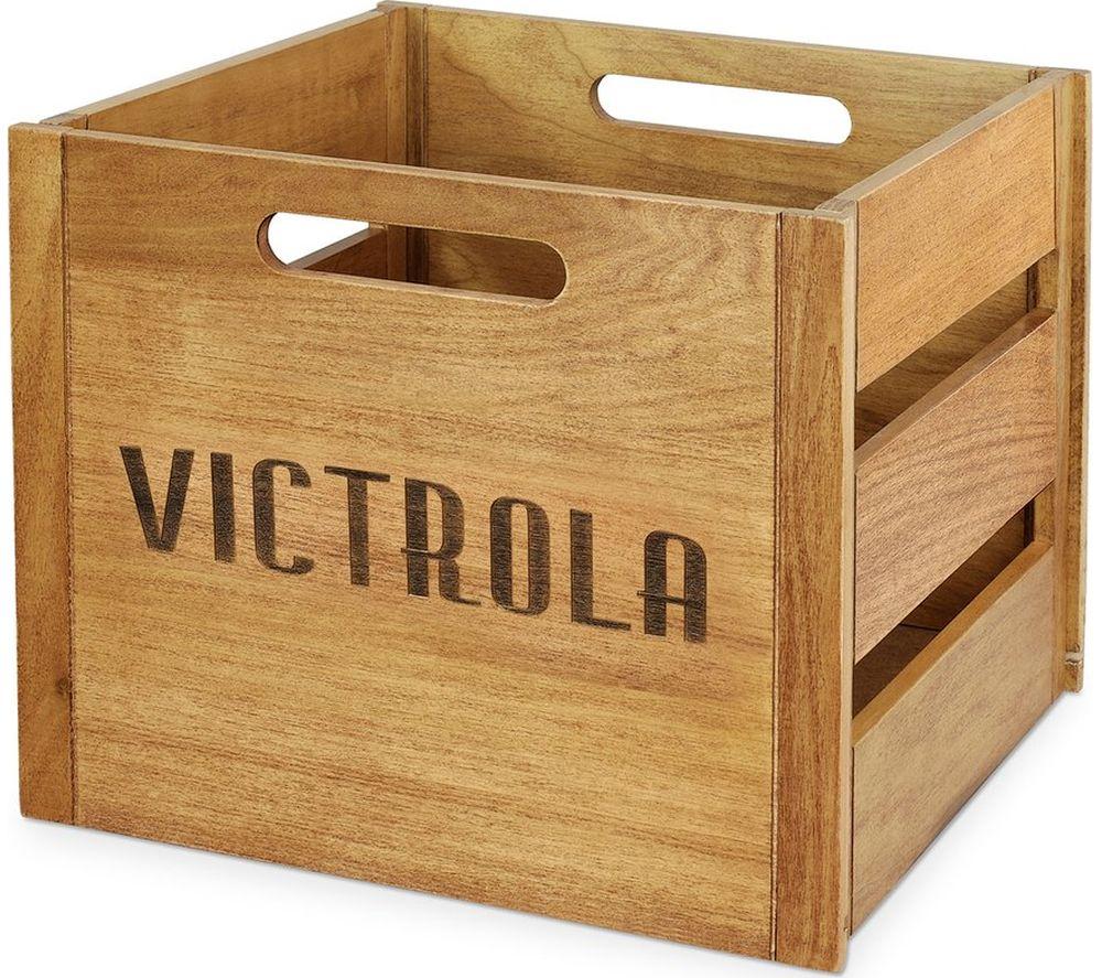 Image of VA 20 Vintage Record Holder - Old Wood