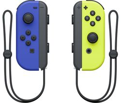 Switch Joy-Con Wireless Controllers - Blue & Yellow