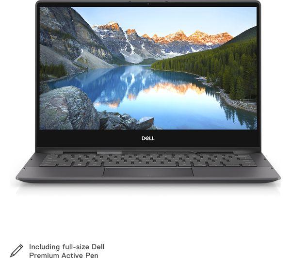 Image of DELL Inspiron 13 7391 13.3 Intel® Core™ i7 2 in 1 - 512 GB SSD, Black