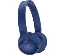 JBL TUNE 600BTNC Wireless Bluetooth Noise-Cancelling Headphones - Blue