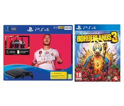 SONY PlayStation 4, FIFA 20 & Borderlands 3 Bundle - 500 GB