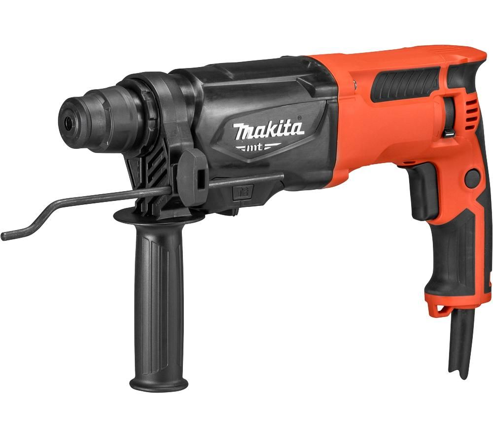 Image of MAKITA M8701 800 W SDS+ Rotary Hammer - Red, Red