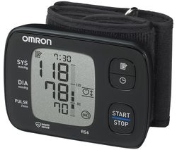RS6 Wrist Blood Pressure Monitor - Black