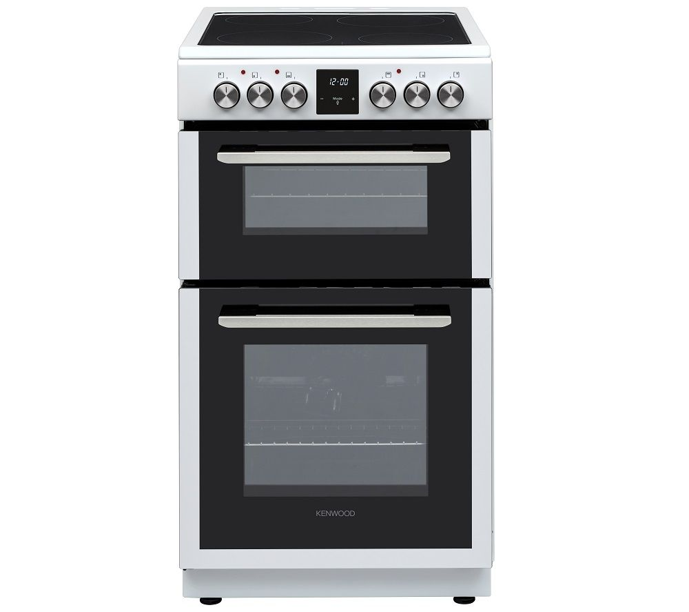 KENWOOD KTC506W19 50 cm Electric Ceramic Cooker - White, White