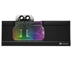 Hydro X Series XG7 RGB RX 5700 XT GPU Water Block - Black