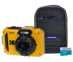 PIXPRO WPZ2 Tough Compact Camera with Case & SD Card - Yellow