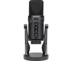 G-Track Pro USB Microphone - Black