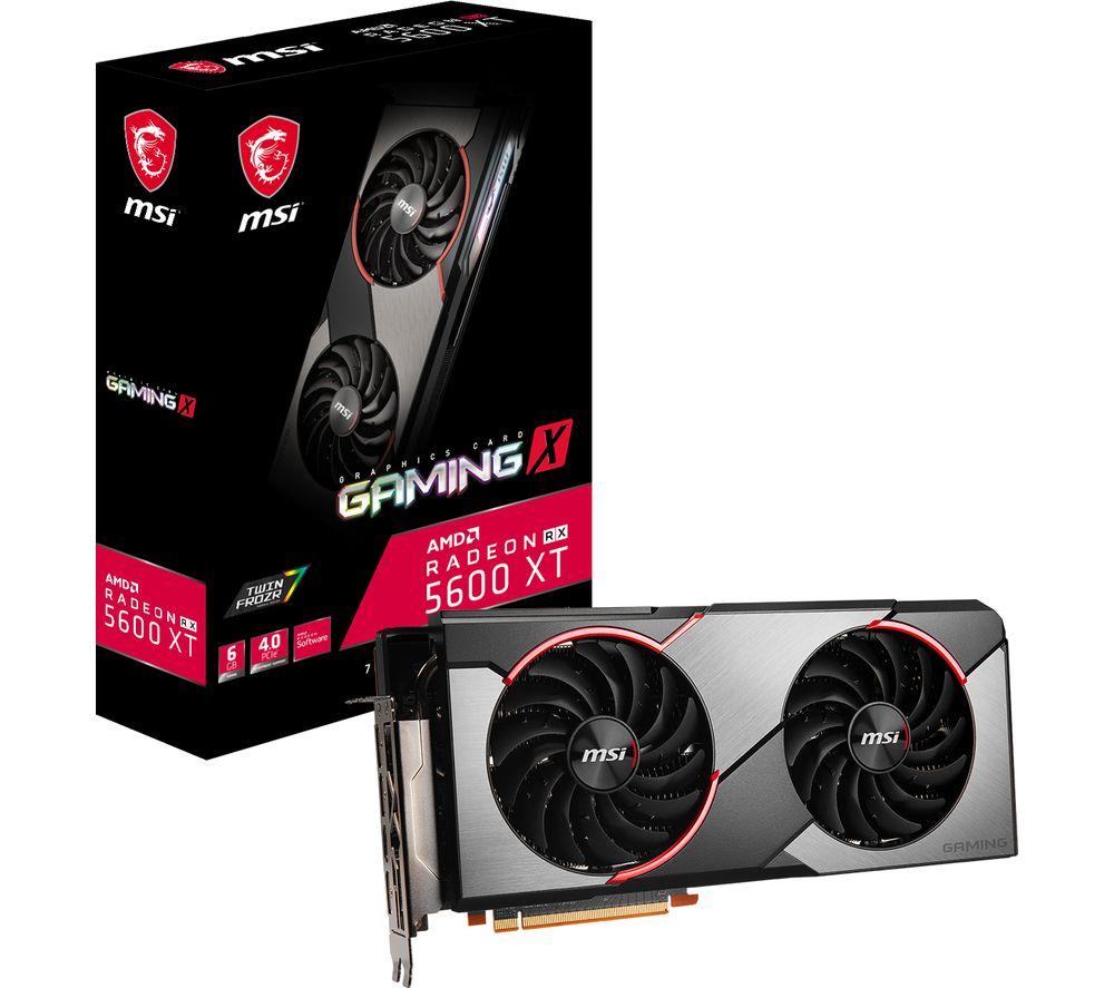 MSI Radeon RX 5600 XT 6 GB GAMING X Graphics Card