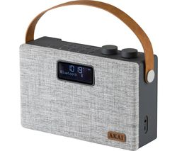 A61029 Portable DAB+/FM Bluetooth Radio - Grey