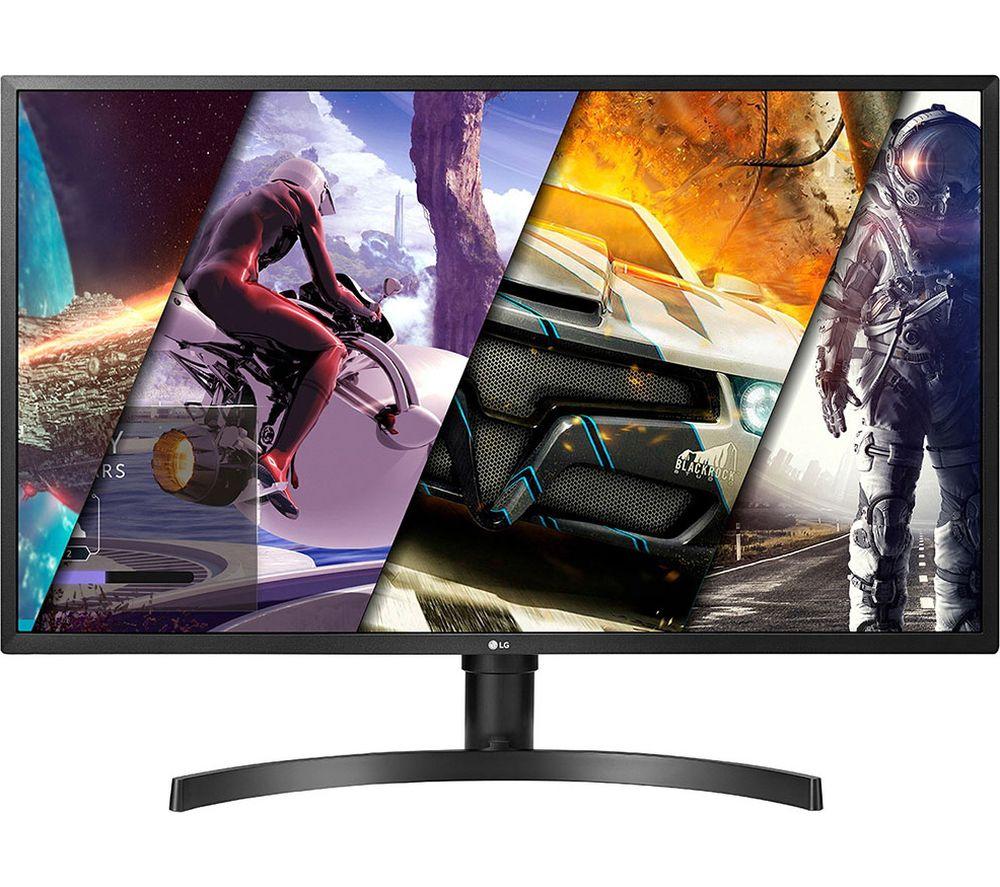 """LG 32UK550 4K Ultra HD 32"""" VA LCD Gaming Monitor - Black"""