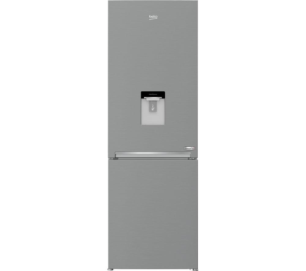 BEKO HarvestFresh CXFG3685DVPS 60/40 Fridge Freezer - Stainless Steel Effect