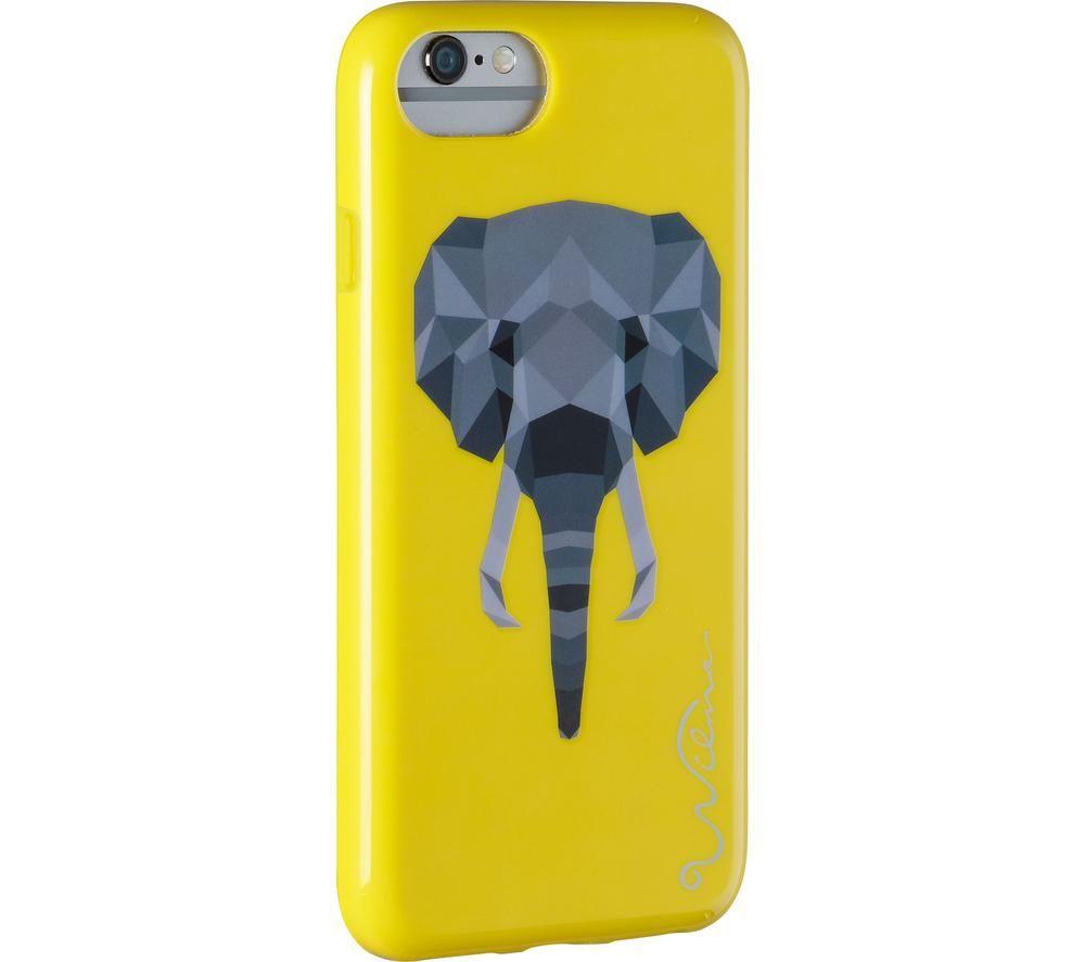 WILMA Electric Savanna Elephant iPhone X / XS Case - Yellow, Yellow