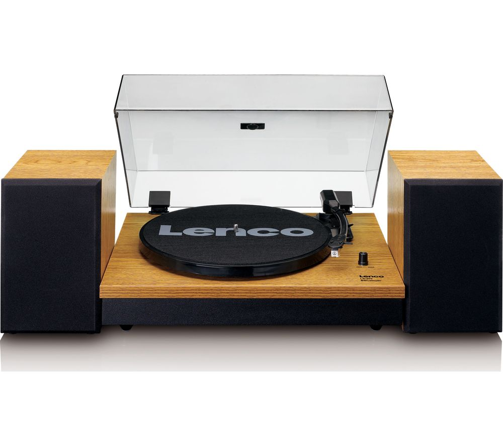 LENCO LS-300 Belt Drive Bluetooth Turntable - Wood
